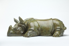 Asian Rhino, Bronze