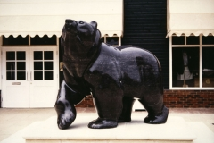 Bear, Belgian Fossil Marble - Bicester Village Retail Park, Oxford - 1993