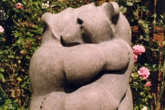 Bears, Belgian Fossil Marble - Private Client,1990