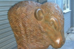 Bull's Head, Bronze (unique) - Private Client, 2008