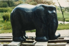 Elephant, Belgian Fossil Marble - Private Client - 1998