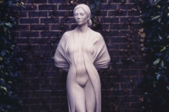 Female Figure, Portland Stone - Private Client - 1995