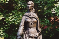 Granuaille, the Irish Pirate Queen - Bronze - Private Client - 2003