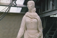 Granuaille, the Irish Pirate Queen - Stone - Private Client - 2003