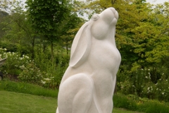 Hare, French Limestone 8ft - Private Client- 2005