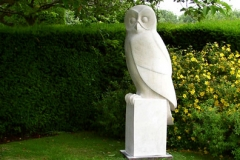 Owl - French Limestone - Private Client - 2002