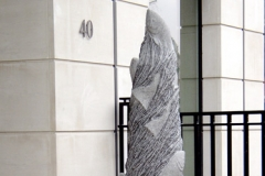 Salmon Leap, Belgian Fossil Marble - Helical Bar, Berkeley Square, London - 2005