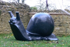 Snail, Belgian Fossil Marble - Private Client