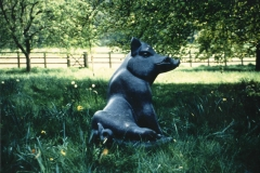 Wild Boar, Belgian Fossil Marble - Private Client - 1997