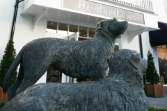 Irish Wolfhounds, Bronze - Kilkenny Retail Village - 2007