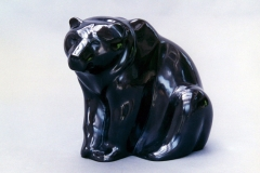 Bear, Belgian Black Marble