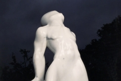 Emerging Figure, Carrara Statuary Marble
