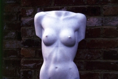 Female Torso, Carrara Statuary Marble