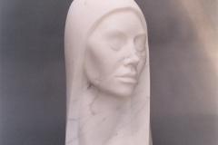 Head, Carrara Statuary Marble
