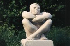 Seated Man, Nabrezzine Marble